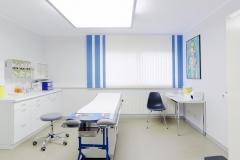 Verbands- und Notfallzimmer